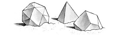 Shape boulders from The Great Sugar War